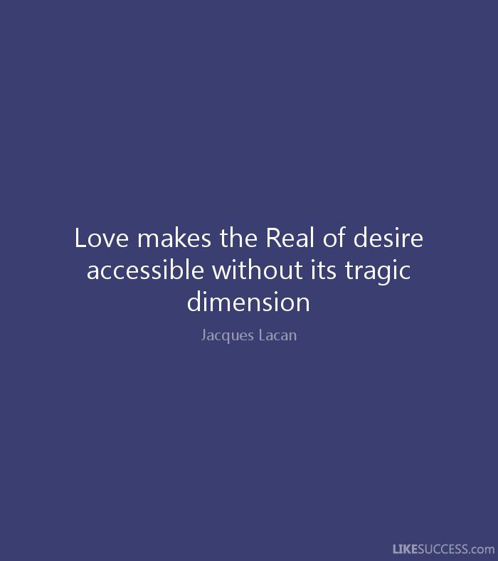 Lacan Love