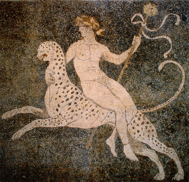 Dionysos_on_a_cheetah_Pella_Greece
